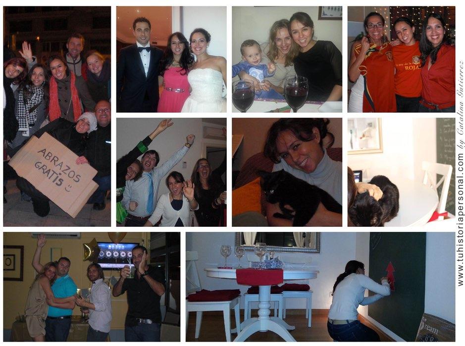 Collage propiedad de Catalina Tu Historia Personal 2
