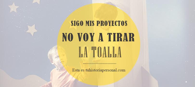 Sigue con tus proyectos