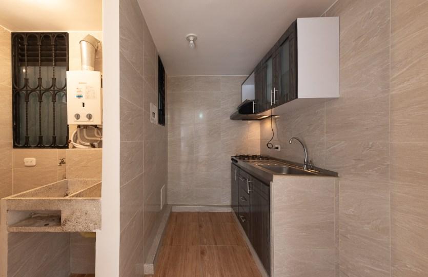 Cocina - Apartamento para la renta Ciudad Verde