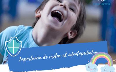 Importancia de visitar al odontopediatra
