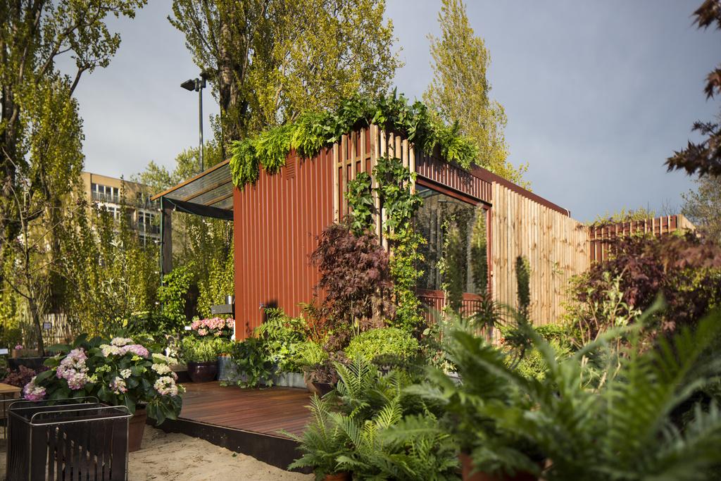 """Urban Gardening in hartje Berlijn: """"Schrebergarten Deluxe"""""""