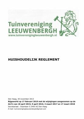 20190305 Bijgewerkt HHR Leeuwenberg 2 maart 2019