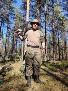 Varusmiespalvelus Säkylässä