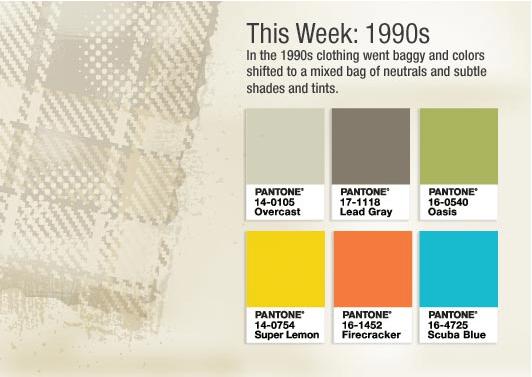 1990's Colours