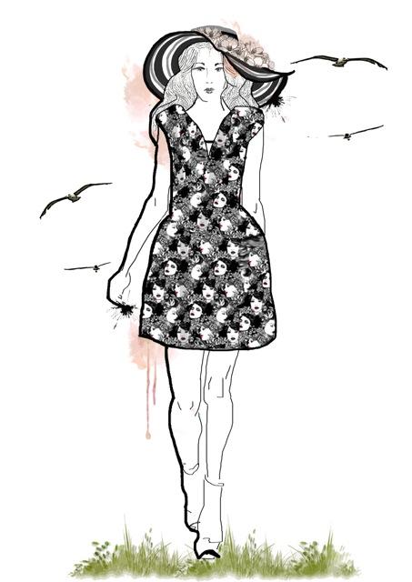 Visage Noir Dress