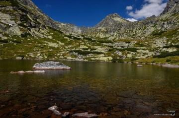 Powyżej wodospadu Skok