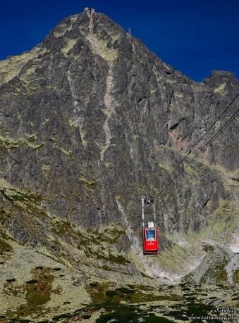 Kolejka na Łomnicki szczyt