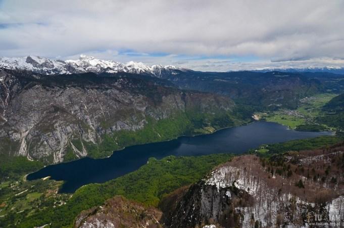 VOGEL - widok na jezioro