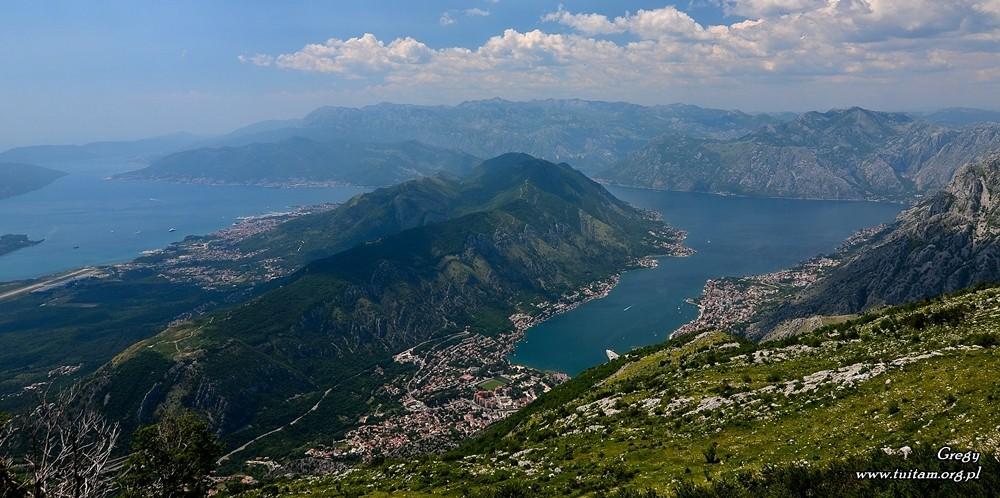 Czarnogóra - widok na Kotor