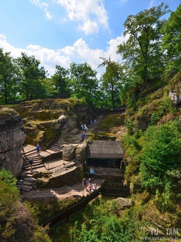 BASTEI - ruiny zamku Neurathen