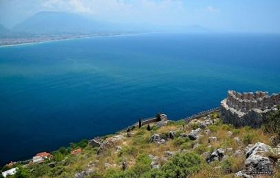 ALANYA - mury twierdzy Seldżuckiej