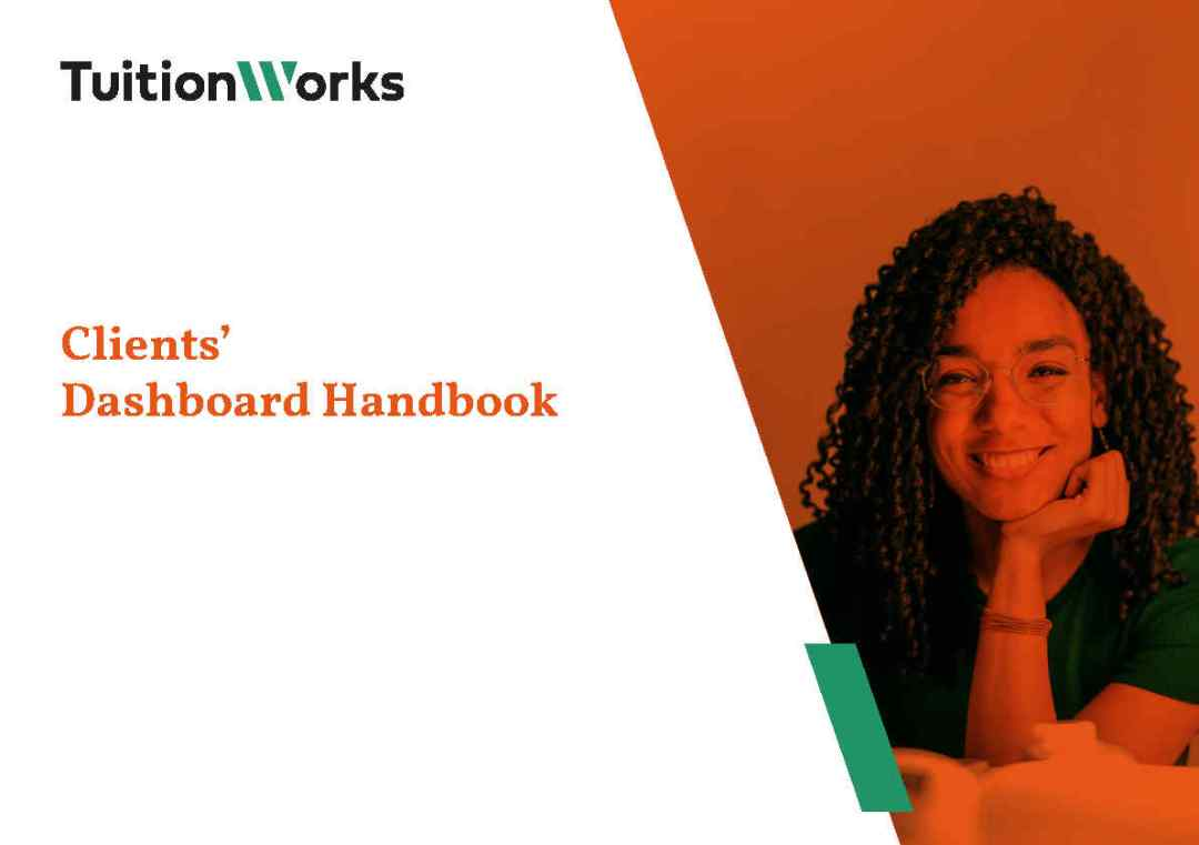 Clients' Dashboard Handbook Cover