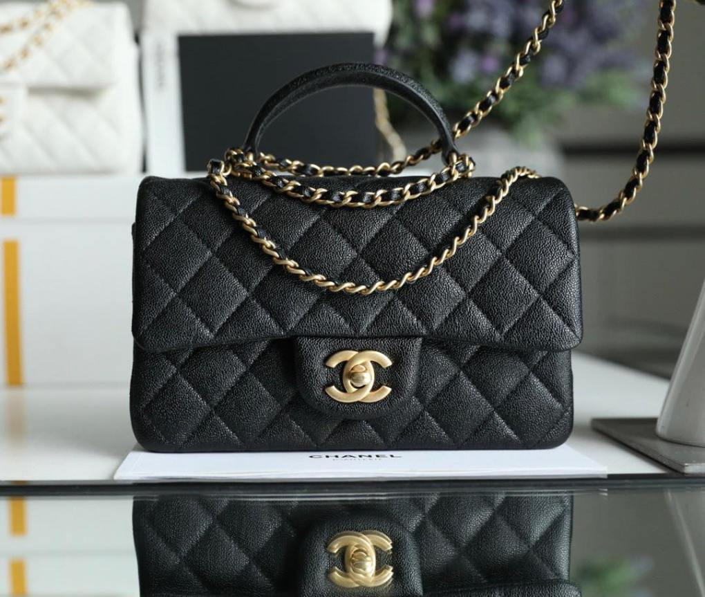 Túi Chanel Flap With Top Handle
