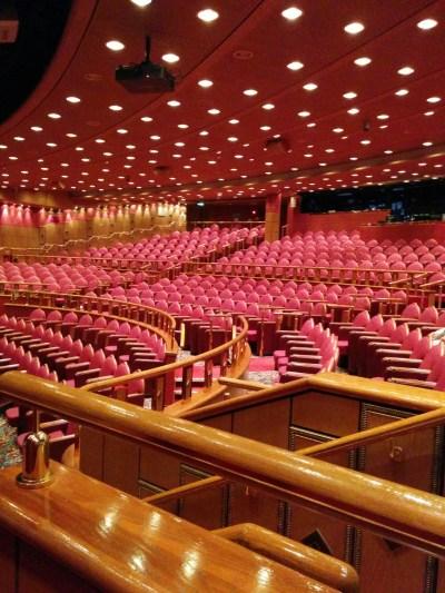 プリンセスクルーズ内の劇場