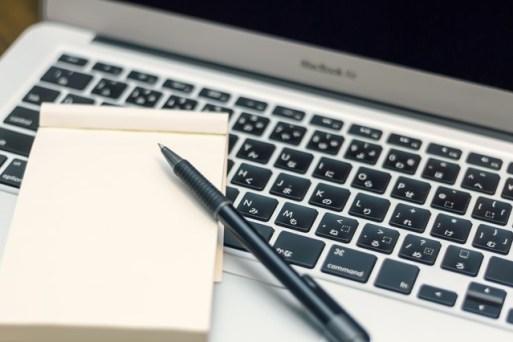 管理職も使うパソコンとメモ帳