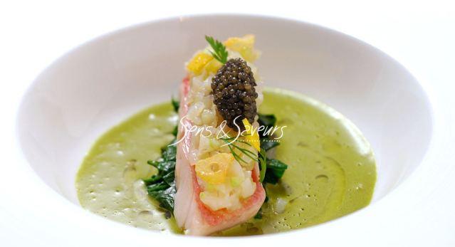 sens&saveursの魚介料理