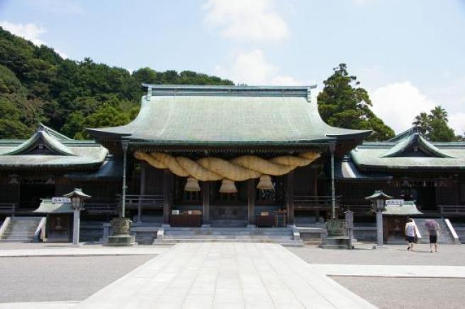 宮地嶽神社の本殿