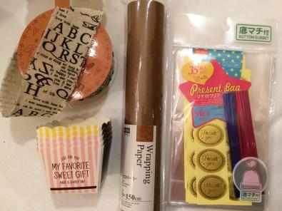 生チョコラッピング用品