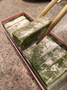 福岡のカカオロマンスの抹茶の生チョコ