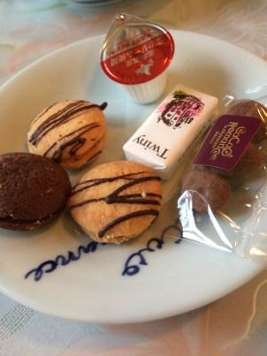 福岡カカオロマンスのお茶菓子セット