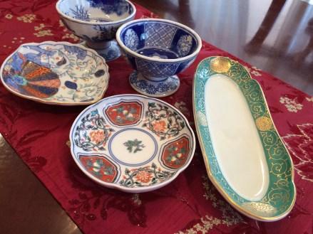 有田陶磁の里プラザで買った陶器