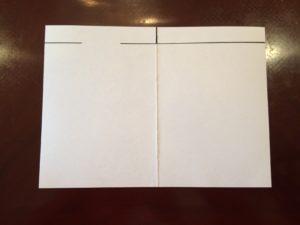 メッセージカード制作手順1