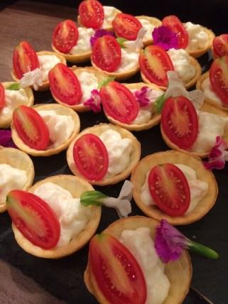 ホテルオークラ福岡のカメリアのアイコトマトのタルト