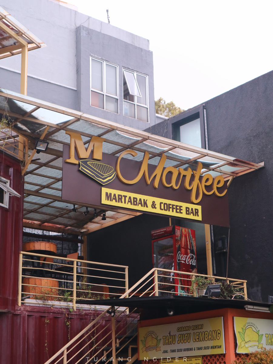 Marfee: Martabak & Coffee Bar