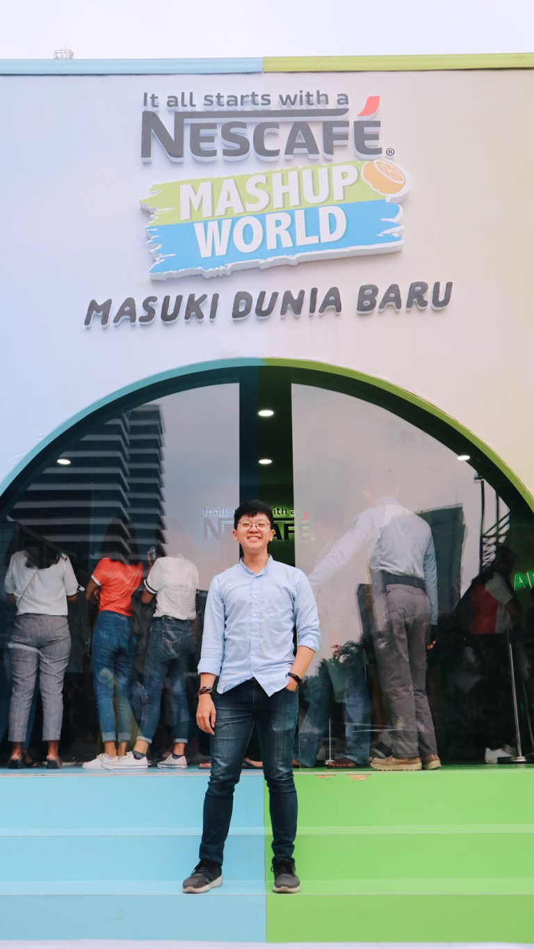Tukang Ngider - Nescafe Mashup World