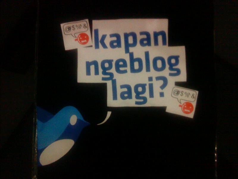 kapan Ngeblog lagi