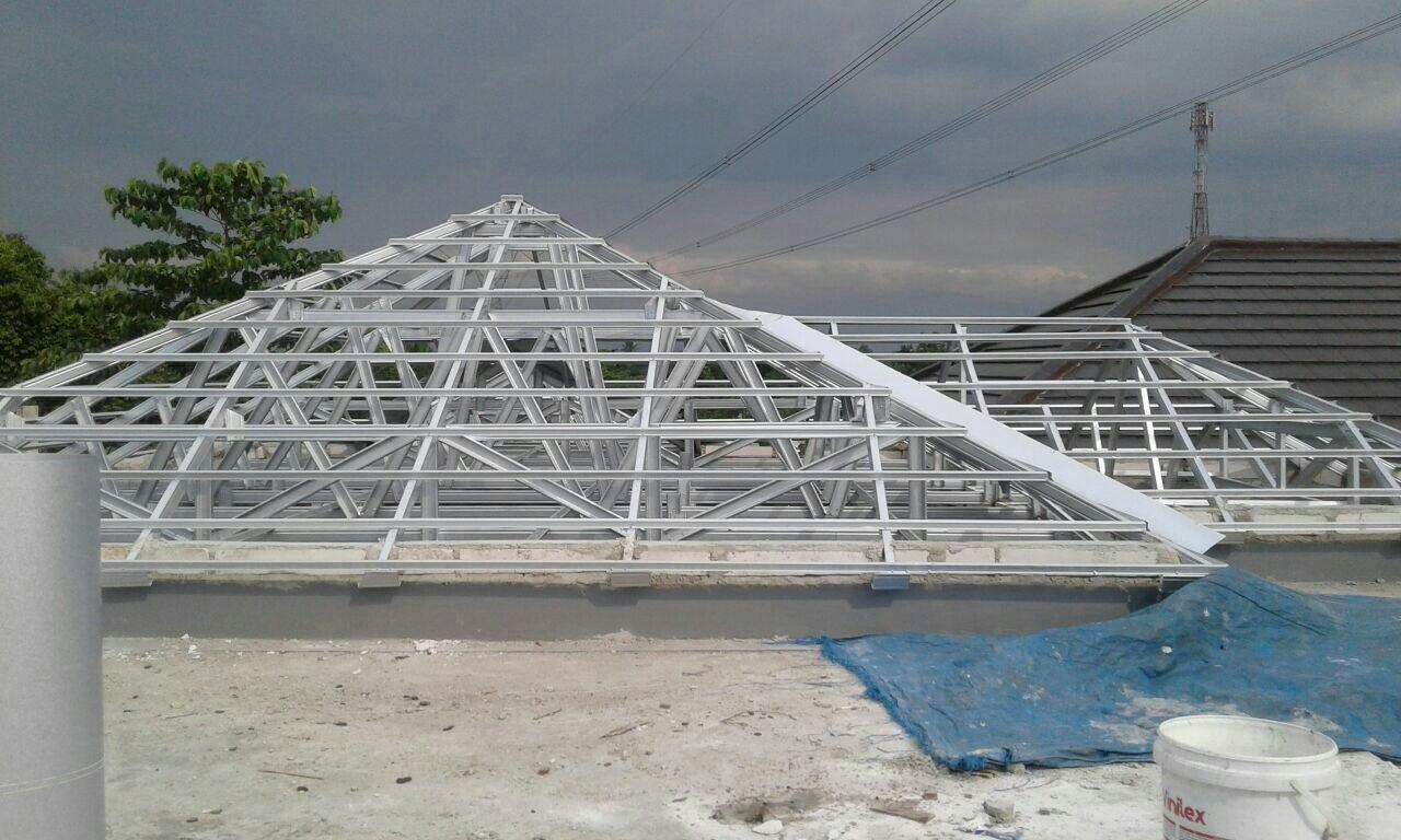 harga baja ringan di medan 2018 pasang rangka atap murah bergaransi wa tlp 0822 1312