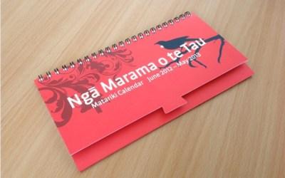 MARAMA O TE TAU – Maori Calendar 2012-2013