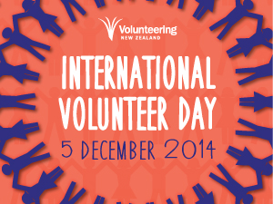 International Volunteer Day 2014