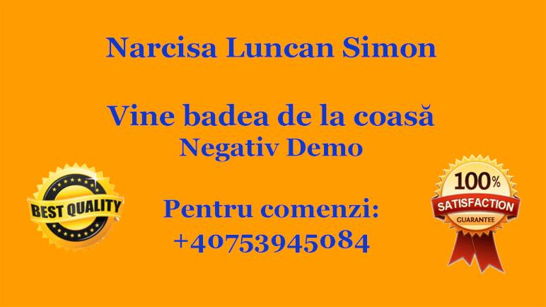 Vine badea de la coasa – Narcisa Luncan Simon
