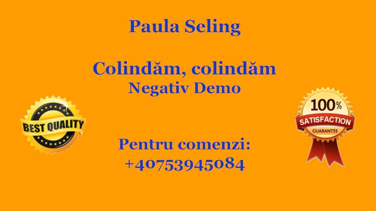 Colindam, colindam – Paula Seling