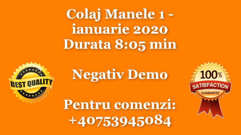 Colaj Manele 1 – ianuarie 2020