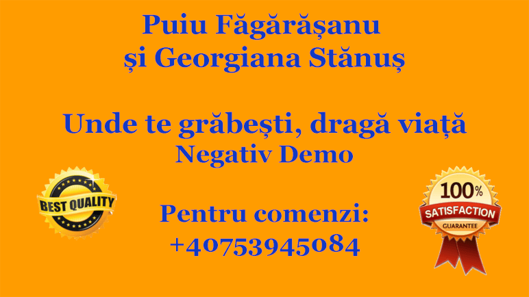 Unde te grabesti, draga viata – Puiu Fagarasanu si Georgiana Stanus