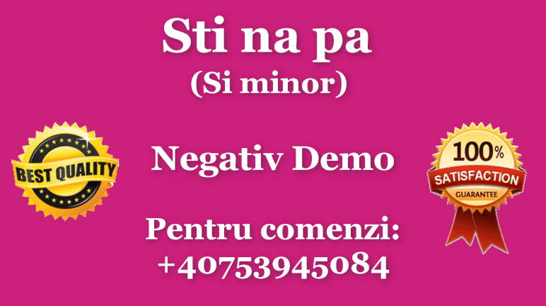 Sti na pa – Sim – Negativ Karaoke Demo by Gabriel Gheorghiu