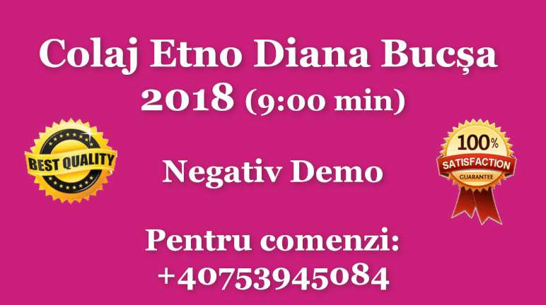 Colaj Etno Diana Bucsa – 2018