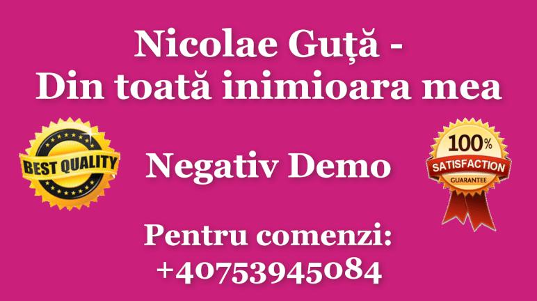 Din toata inimioara mea – Nicolae Guta