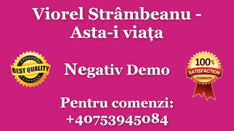 Asta-i viata – Viorel Strambeanu – Negativ Karaoke Demo by Gabriel Gheorghiu