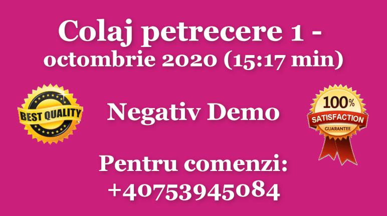 Colaj petrecere 1 – octombrie 2020 – Negativ Karaoke Demo