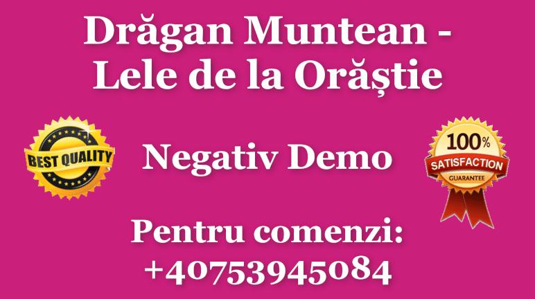Lele de la Orastie – Dragan Muntean – Negativ Karaoke Demo