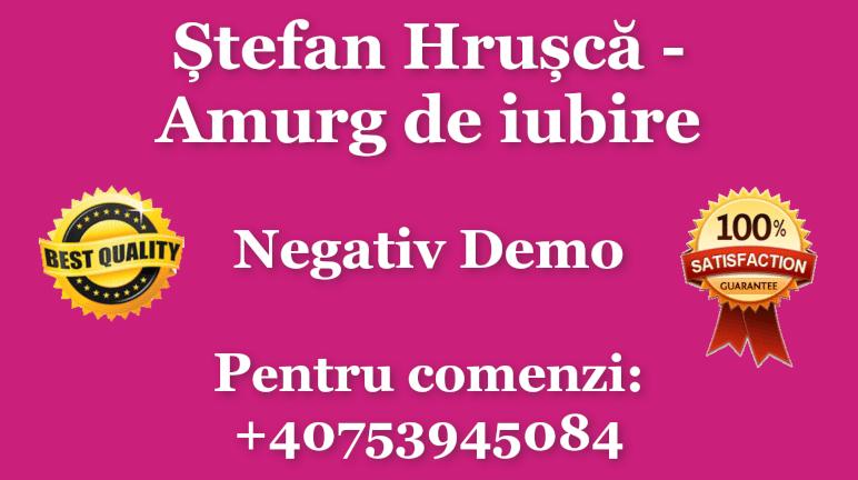 Stefan Hrusca – Amurg de iubire