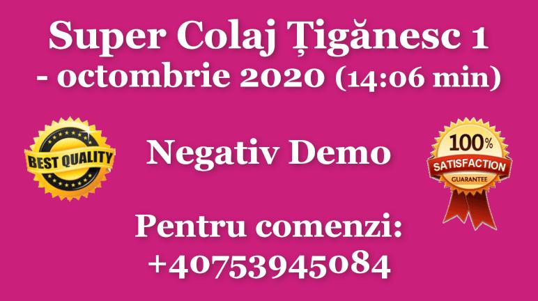 Super Colaj Tiganesc 1 – octombrie 2020 – Negativ Karaoke Demo by Gabriel Gheorghiu