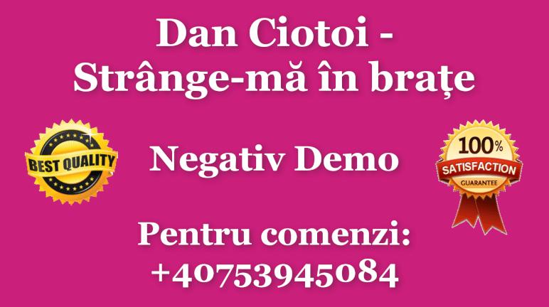 Strange-ma in brate – Dan Ciotoi – Negativ Karaoke Demo