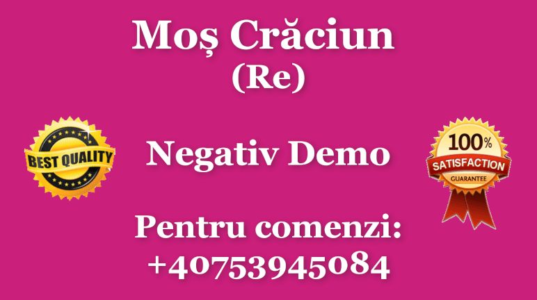 Mos Craciun (Re) – Negativ Karaoke Demo