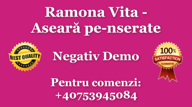 Aseara pe-nserate – Ramona Vita – Negativ Karaoke Demo
