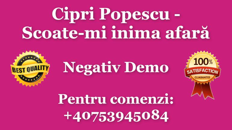 Scoate-mi inima afara – Cipri Popescu – Negativ Karaoke Demo