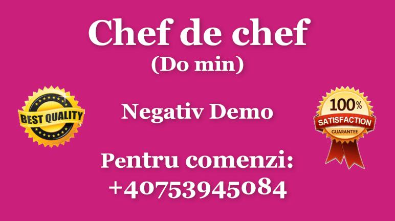 Chef de chef – Do minor – Negativ Karaoke Demo